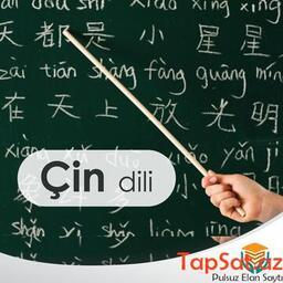 Çin dili kursları.