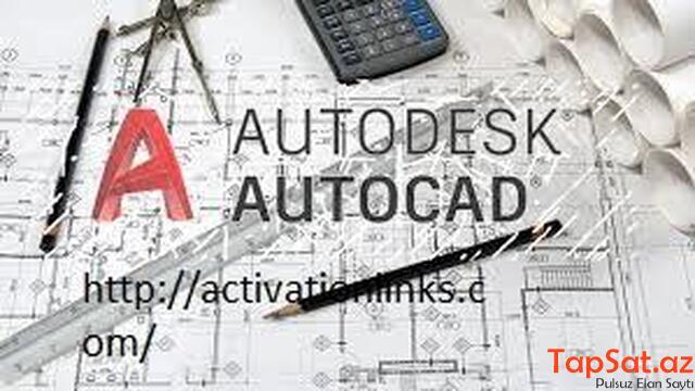 Auto CAD  Proqramından  hazirliq - 1/3
