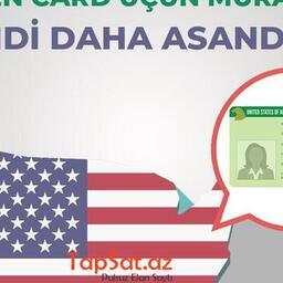 Green Card üçün müraciət