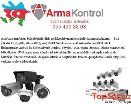☆Muhafize kameralari ve sistemleri ☆055 450 88 08 ☆ - 1/1